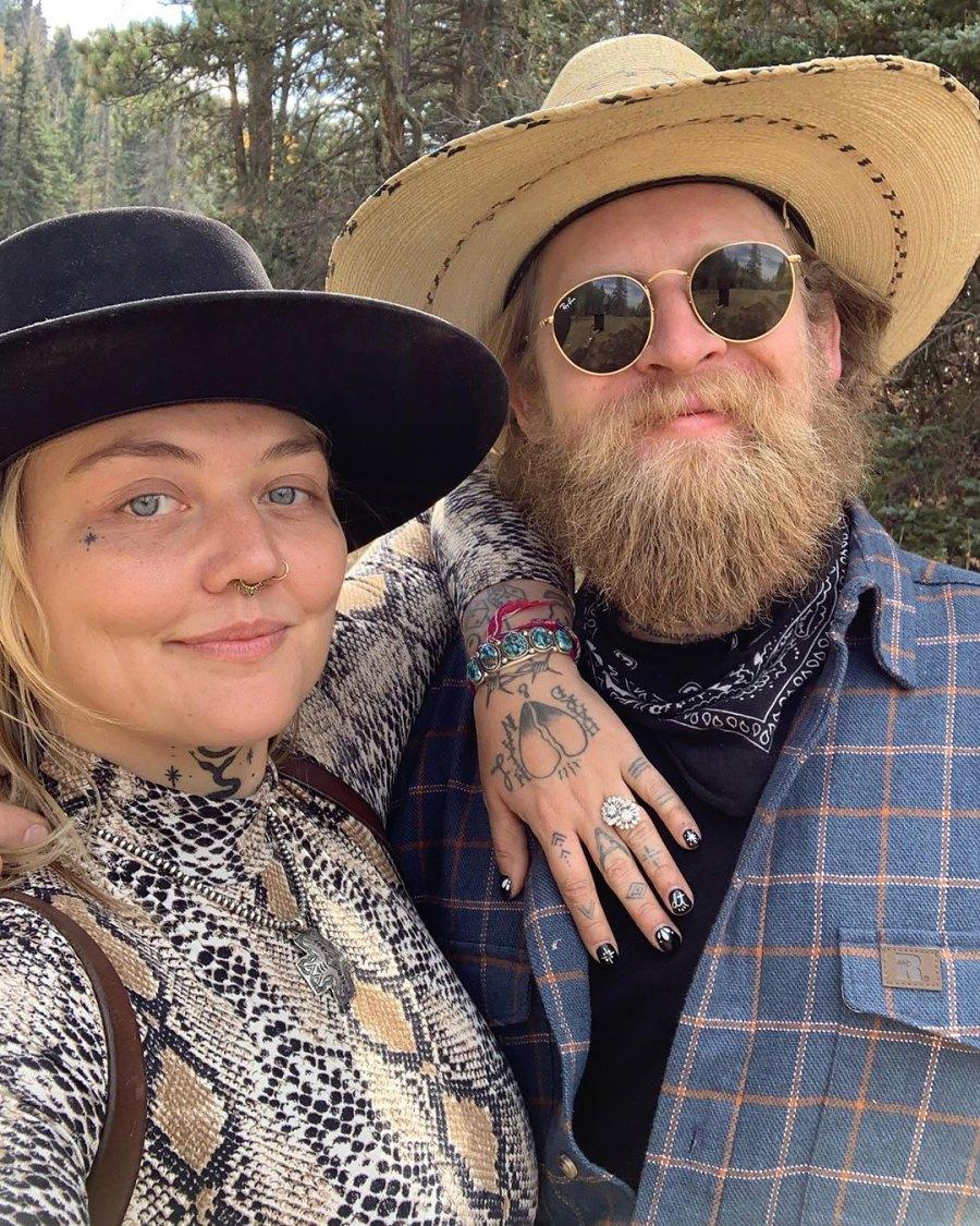 Elle King and Dan Tooker Celebrity Engagements of 2020