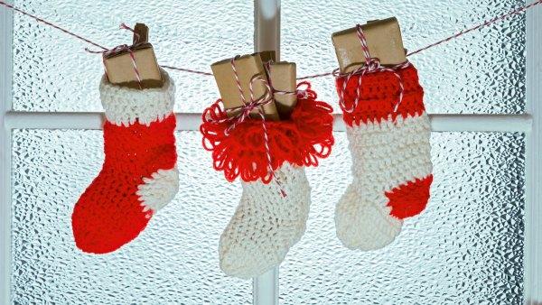 christmas-stocking-gift-stock-photo