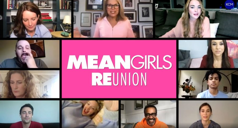 Casts and Stars Reuniting Over Video-Chat During Coronavirus Quarantine: Mean Girls