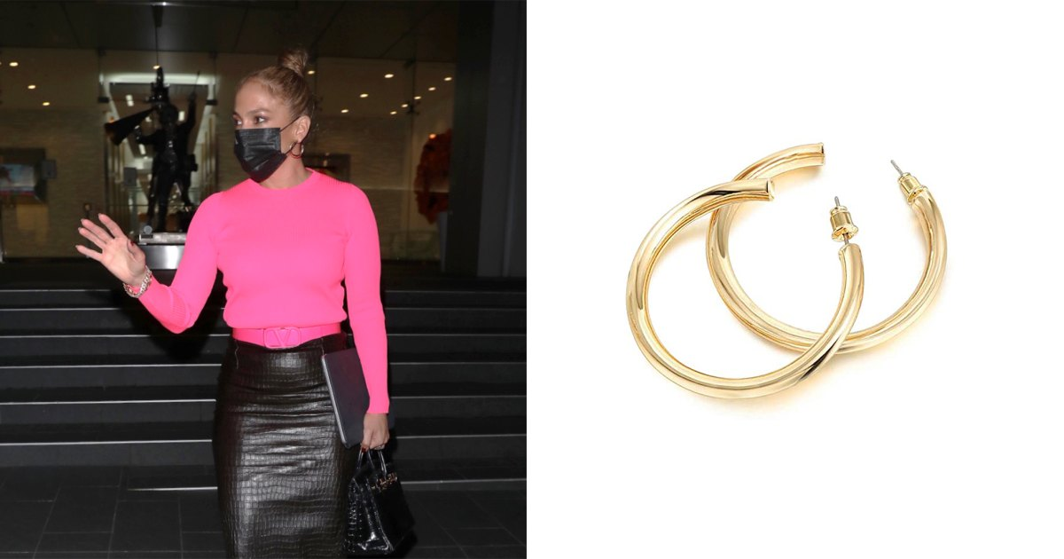 We Found Gold-Plated Hoops Just Like J. Lo's $295 Pair — But for $13