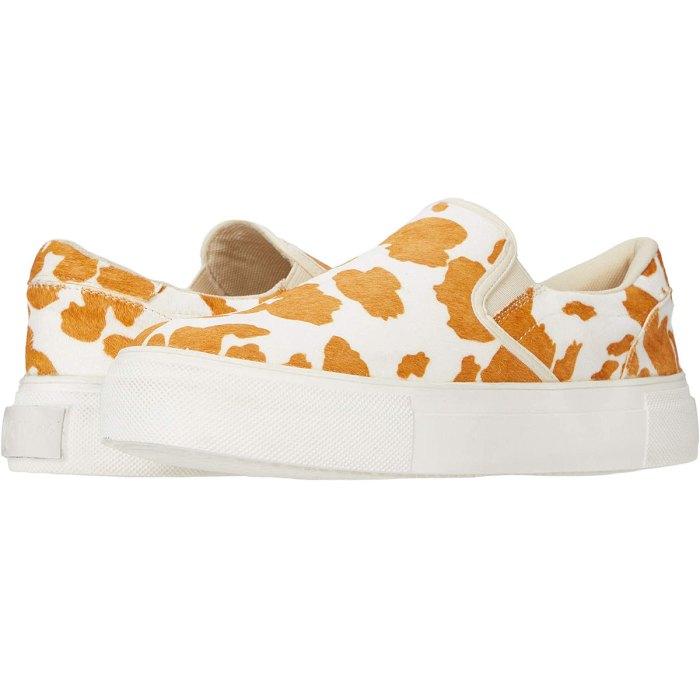 Matisse cow platform sneakers