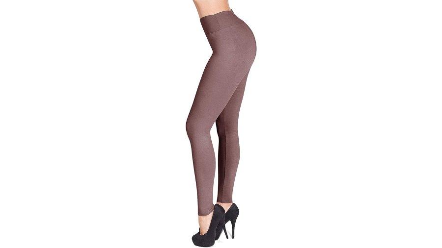 SATINA High-Waisted Leggings