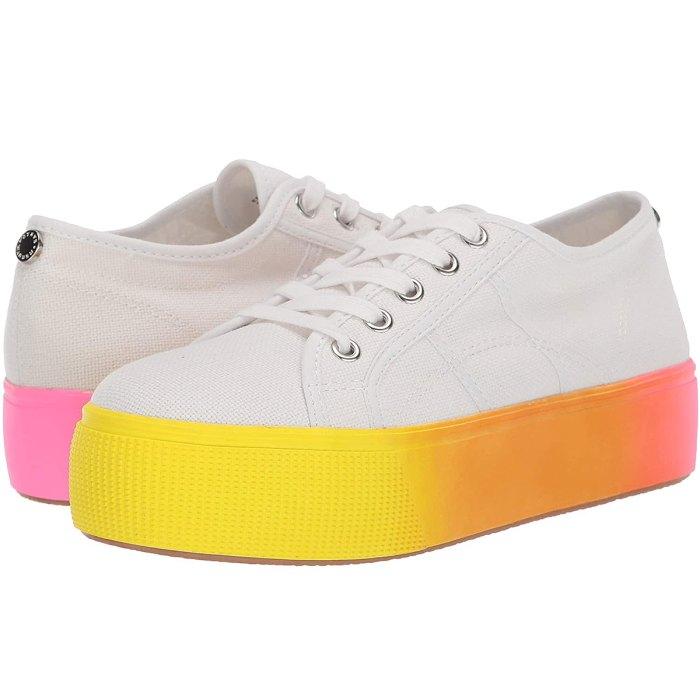 Steve Madden Rainbow Platform Sneakers