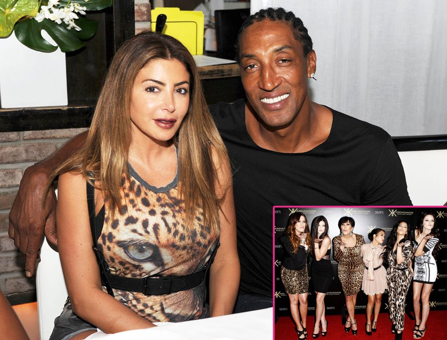 Larsa Pippen and Scott Pippen and Khloe Kardashian Kendall Jenner Kris Jenner Kourtney Karashian Kim Kardashian and Kylie Jenner Larsa Pippen Breaks Silence on Kardashian Falling Out