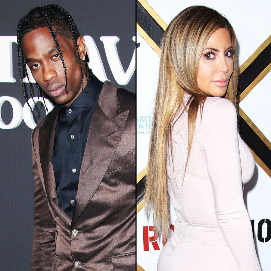 Travis Scott and Larsa Pippen Larsa Pippen Breaks Silence on Kardashian Falling Out
