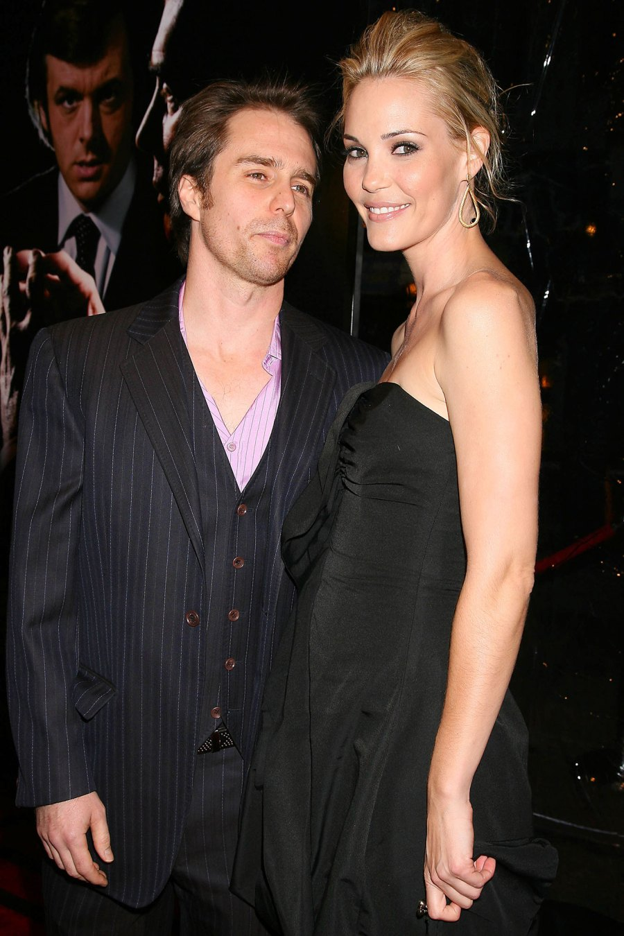 2007 Started Dating Sam Rockwell and Leslie Bibb Relationship Timeline