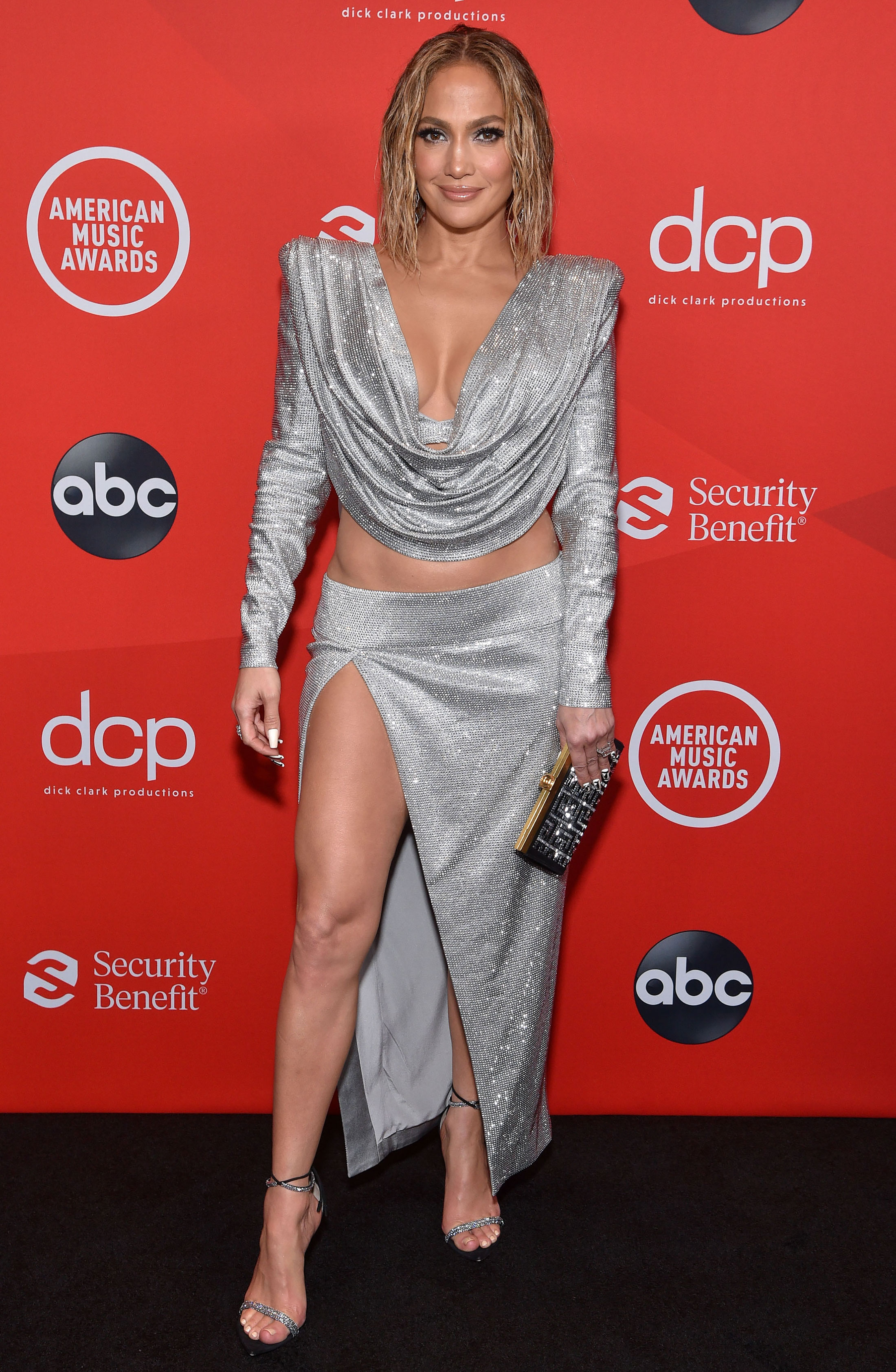 AMAs 2020 Red Carpet Fashion: See Celeb Dresses, Gowns