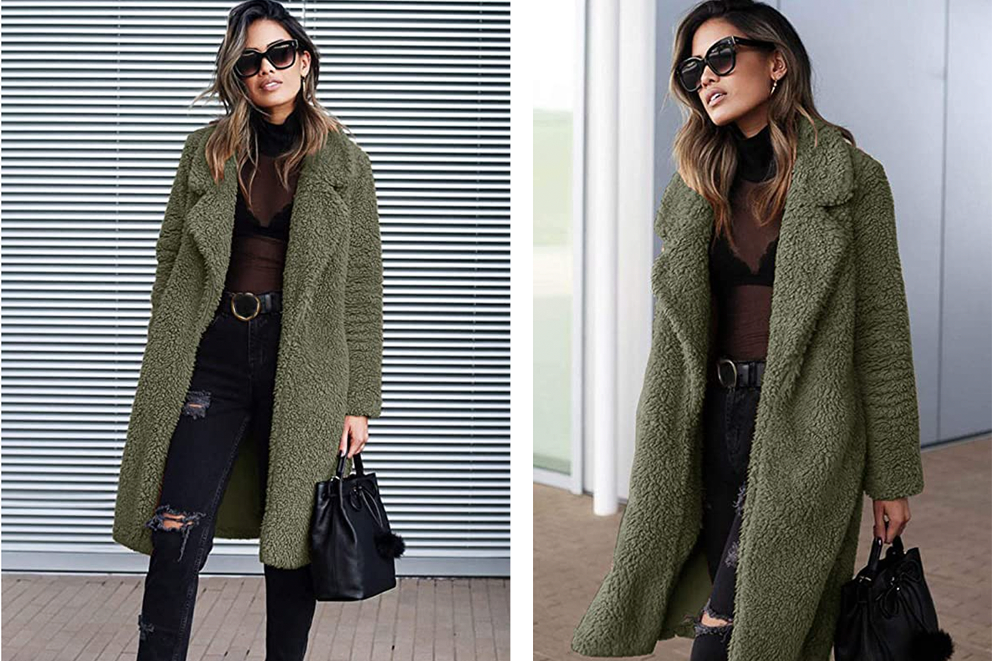 Angashion Ultra Fuzzy Coat Will Make You Feel Like A Winter Queen