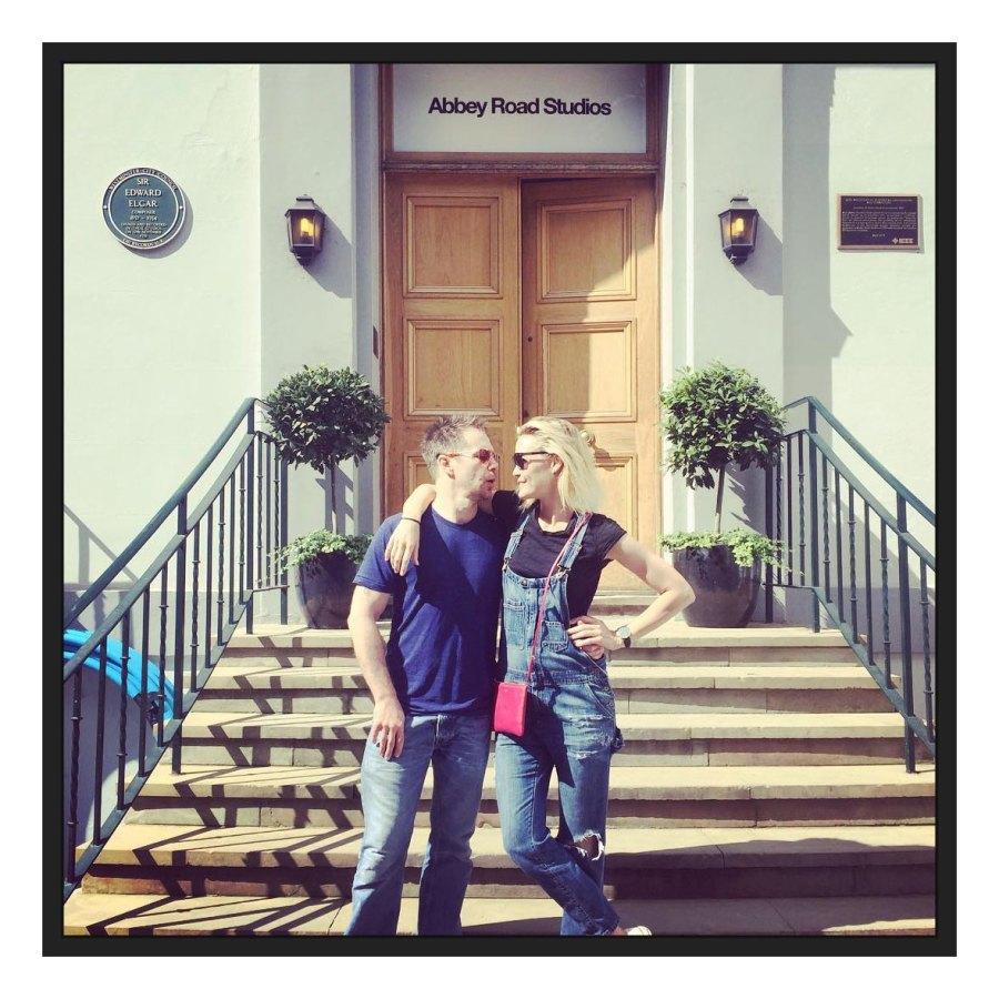 August 2016 London 1 Leslie Bibb Instagram Sam Rockwell and Leslie Bibb Relationship Timeline