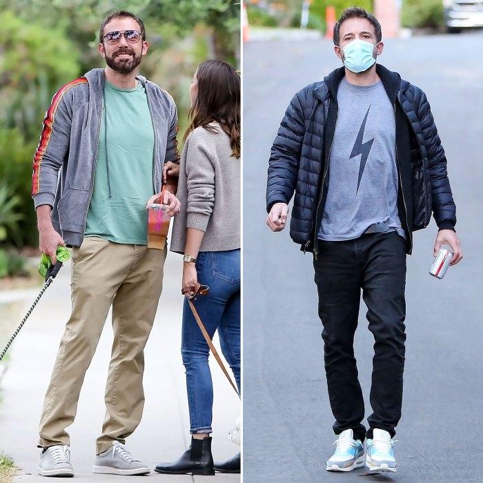 Ben Affleck ha estado haciendo ejercicio para cambiar su dieta en medio de la pandemia