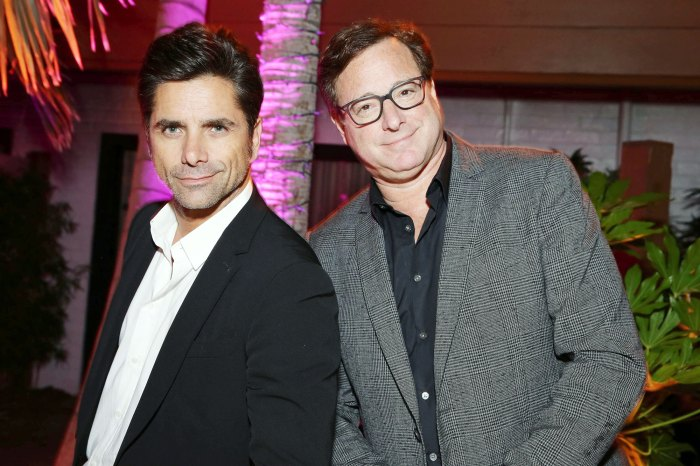 John Stamos and Bob Saget in 2016 Bob Saget Shares How John Stamos Helped Him Prepare for The Masked Singer