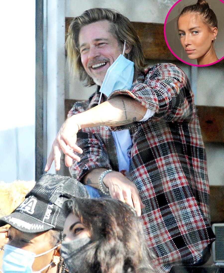 Brad Pitt Spotted Doing Charity Work in LA Amid Split From Girlfriend Nicole Poturalski