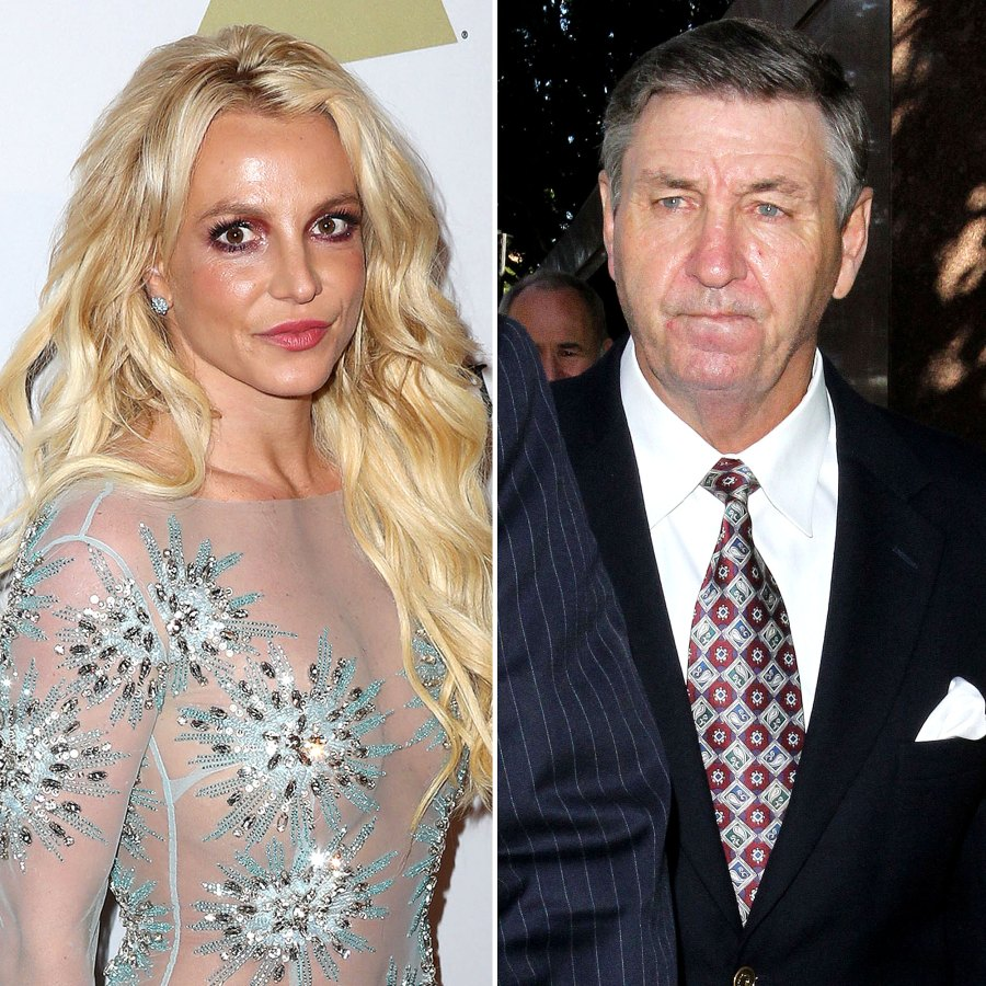 Britney Spears Dad Jamie Is Out Remains Co-Conservator Her Estate Amid Court Battle