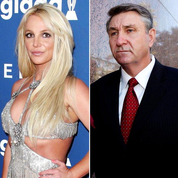 Los archivos de Britney Spears hacen que papá Jamie retire a su tutor