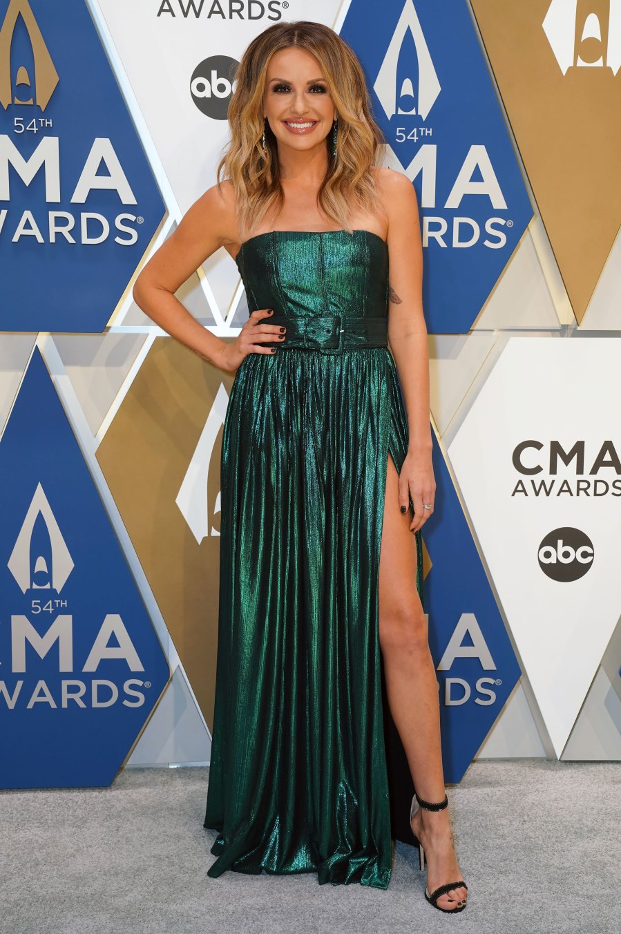 CMA Awards 2020 Red Carpet Arrivals - Carly Pearce
