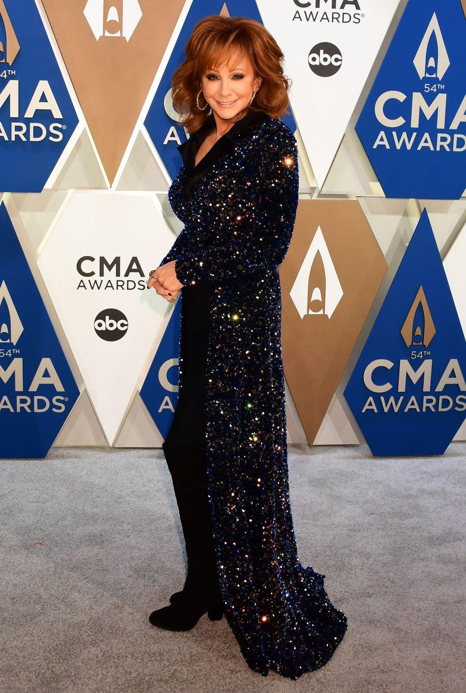CMA Awards 2020 Red Carpet Arrivals - Reba McEntire