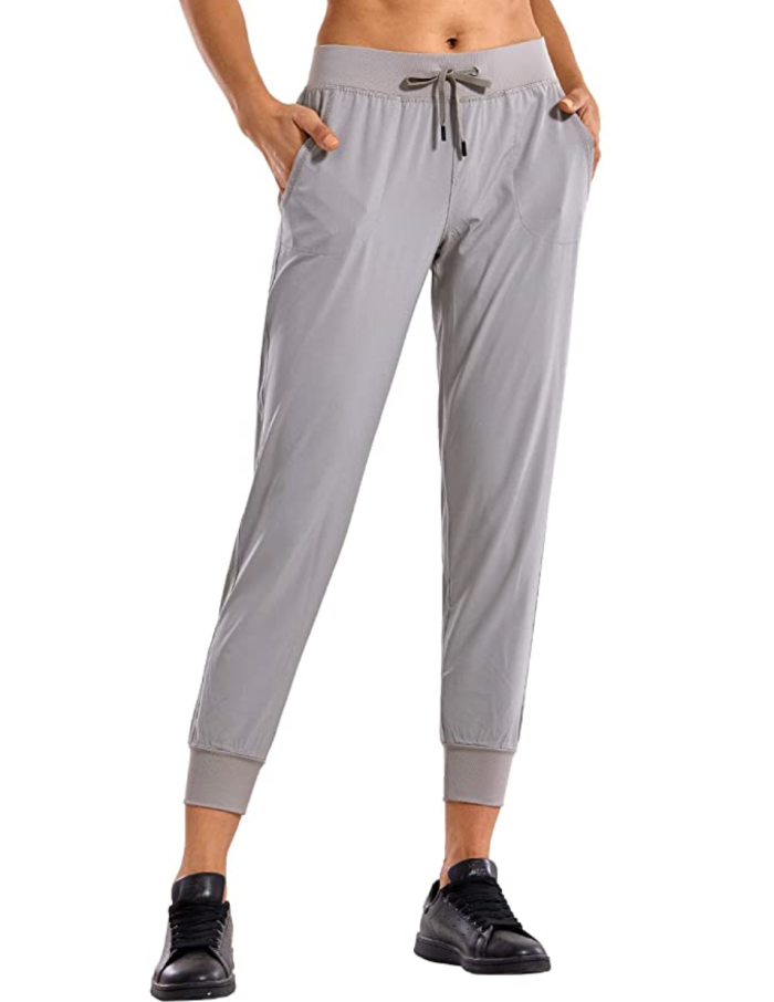 Pantalones deportivos ligeros con bolsillos CRZ YOGA para mujer