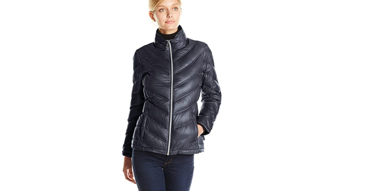 Black Friday Steal! This Calvin Klein Quilted Down Jacket Is Up to 31% Off