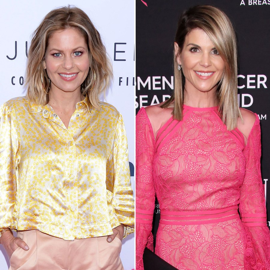 Candace Cameron Bure Seemingly Shares Letter From Lori Loughlin