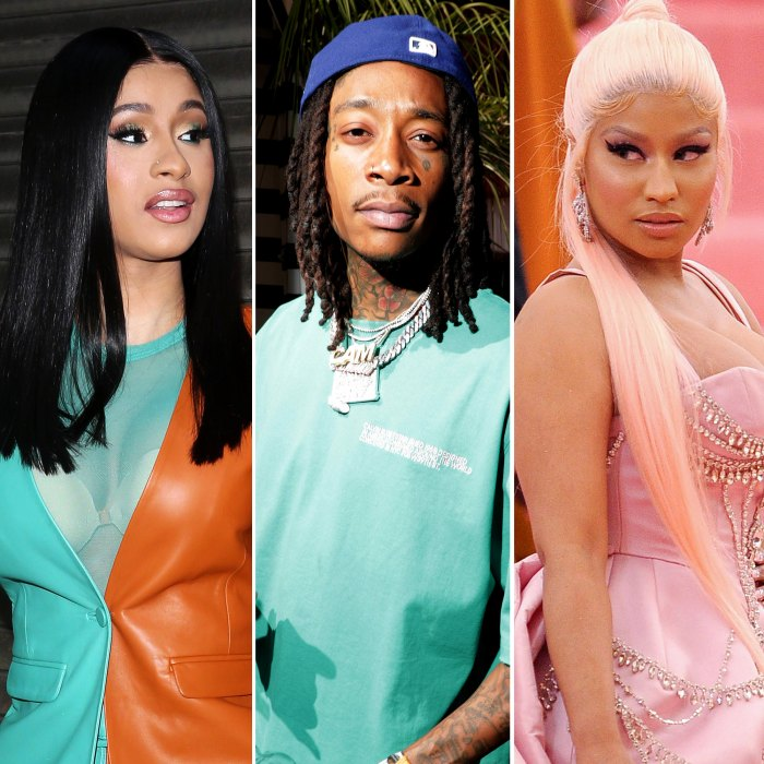 Cardi B Slams Wiz Khalifa for Pitting Her and Nicki Minaj Against Each Other Over Grammys 2021 Drama