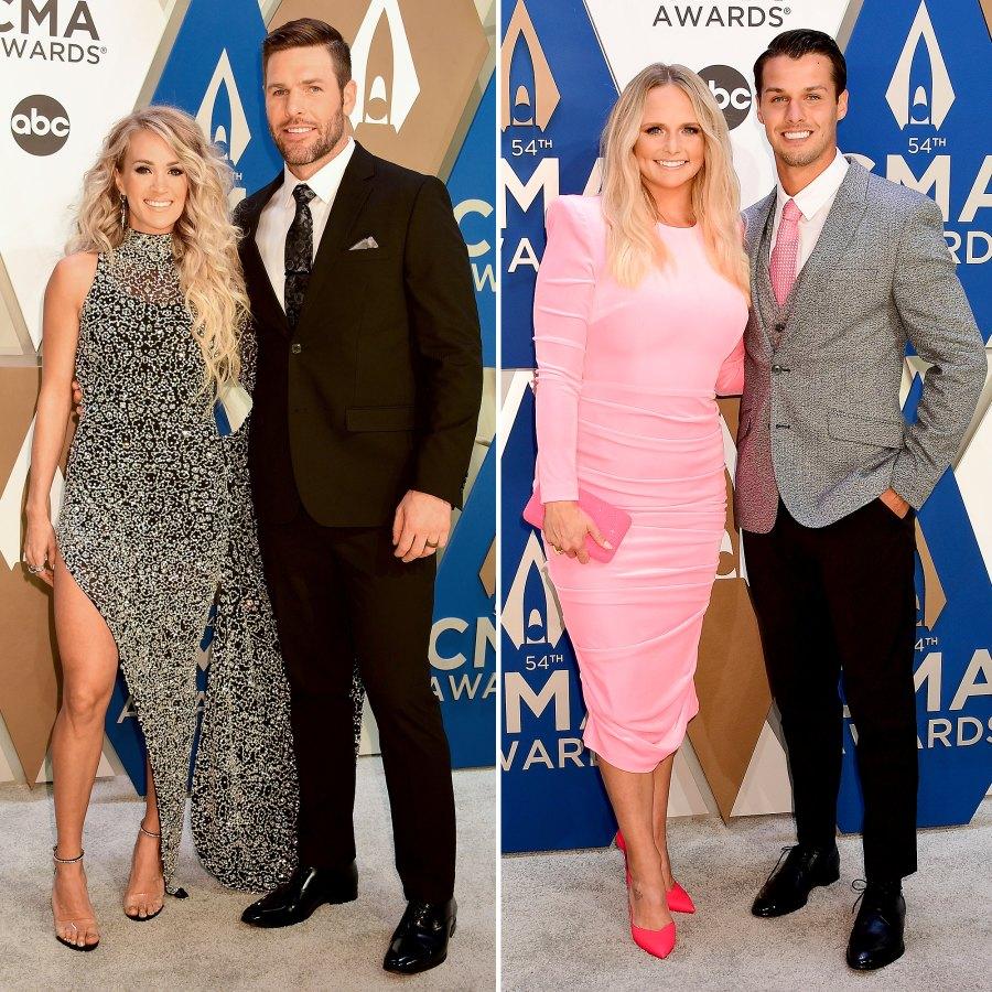 Carrie Underwood Miranda Lambert CMA Awards 2020 Couples