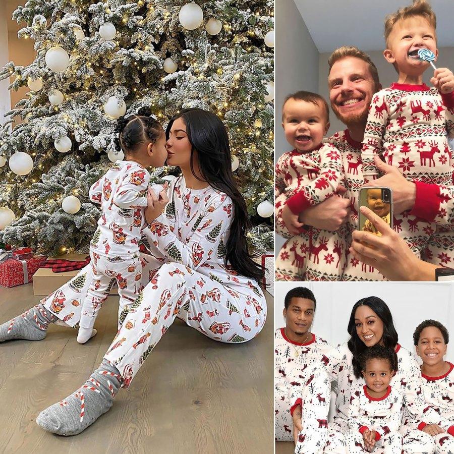 Celeb Parents Wear Matching Pajamas With Their Kids