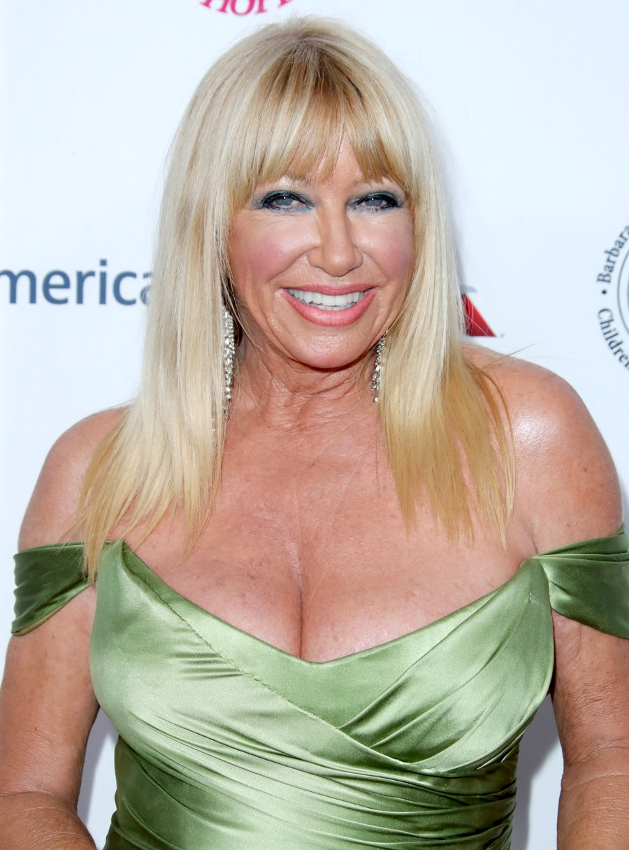 Celebrity Health Scares Suzanne Somers
