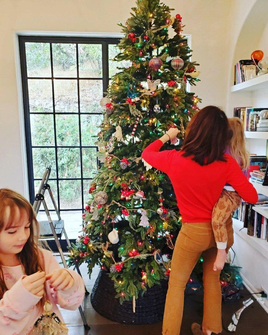 Celebrity Holiday Decorations 2020 Caterina Scorsone