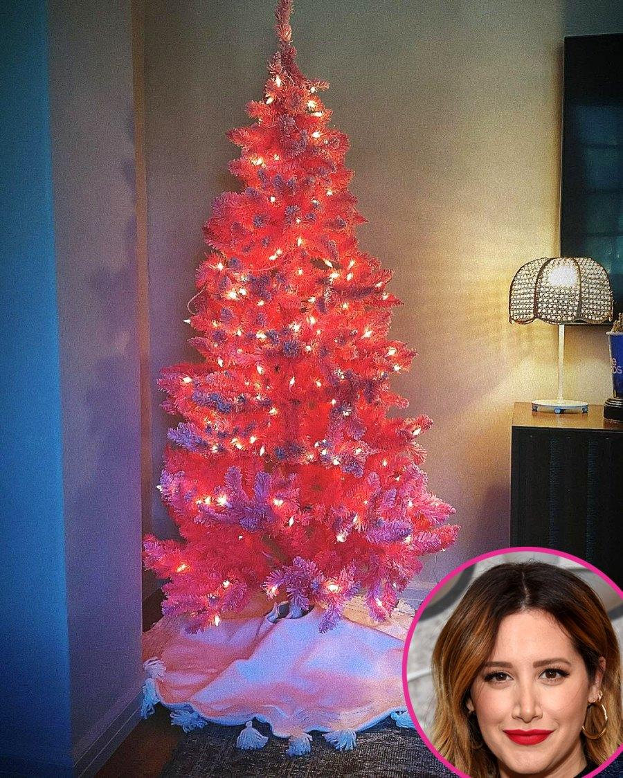 Celebrity Holiday Decorations 2020 Ashley Tisdale