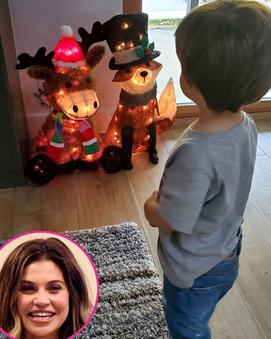 Celebrity Holiday Decorations 2020 Danielle Fishel