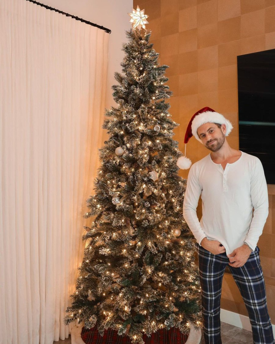 Celebrity Holiday Decorations of 2020 Nick Viall
