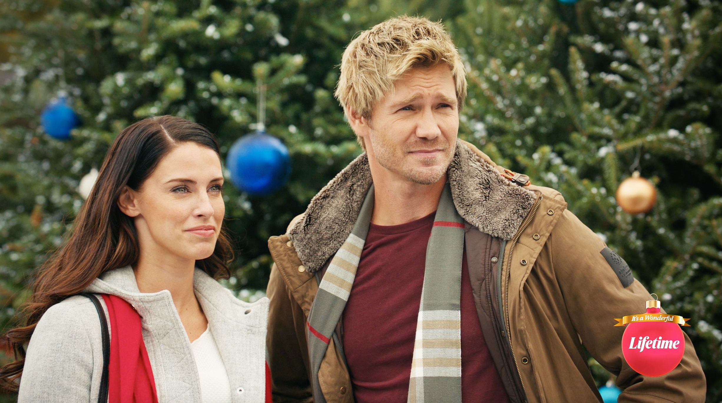 Chad Michael Murray Is a Bit of a Grinch in Lifetime's Too Close for Christmas