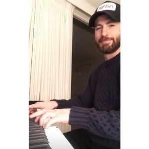 Total Heartthrob Chris Evans Shows Off His Hidden Musical Talent