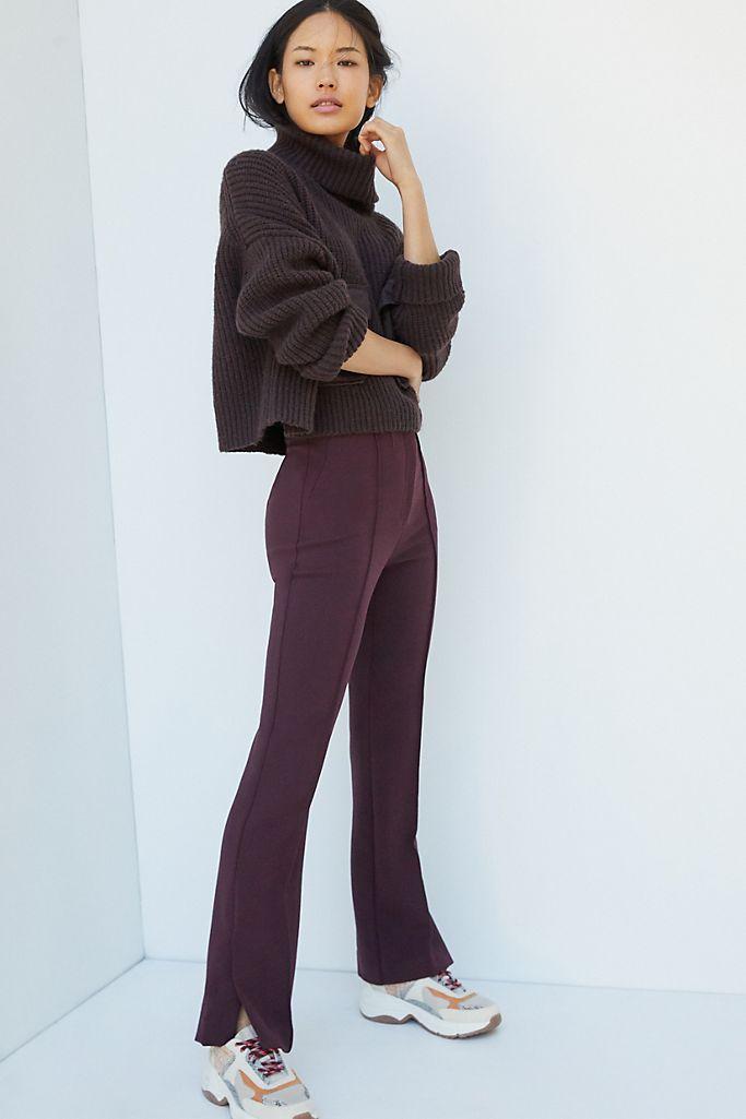 Pantalones bootcut clásicos