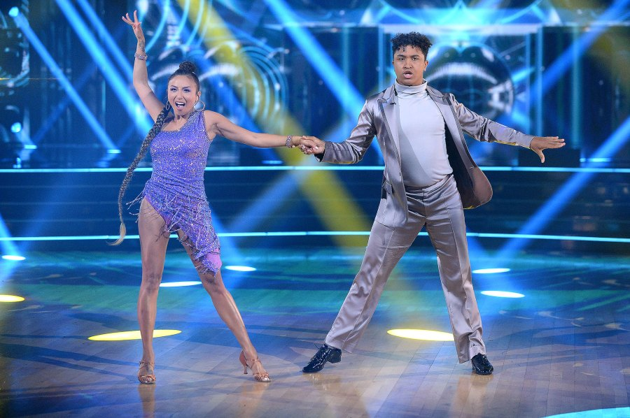 DWTS Dancing With The Stars Cast and More Celebs Send Love to Jeannie Mai After Shes Forced to Exit the Show