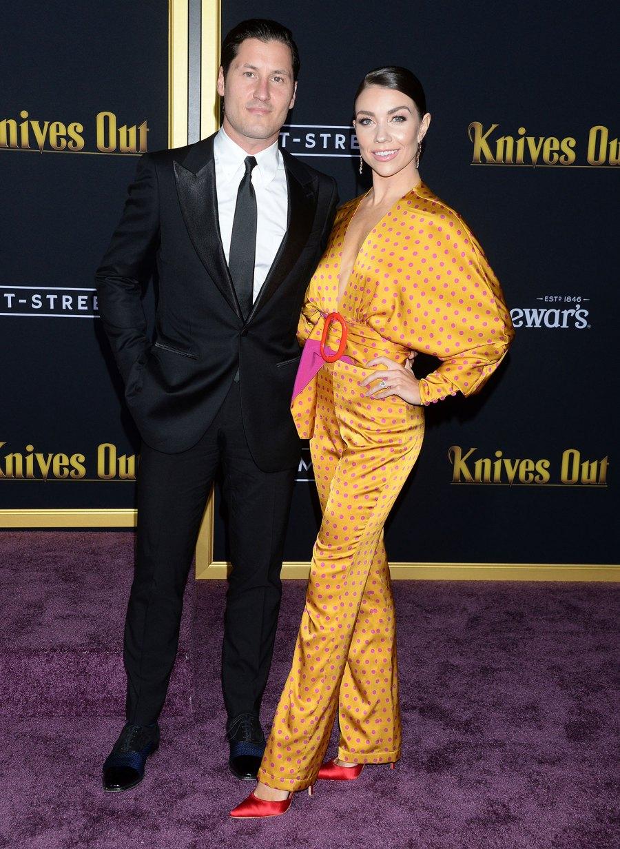 DWTS Val Chmerkovskiy and Jenna Johnson Celebrate 1-Year Anniversary Visit Wedding Venue