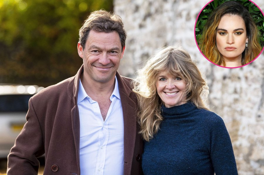 Dominic West and Wife Catherine Fitzgerald Go for a Run Together After Lily James Scandal