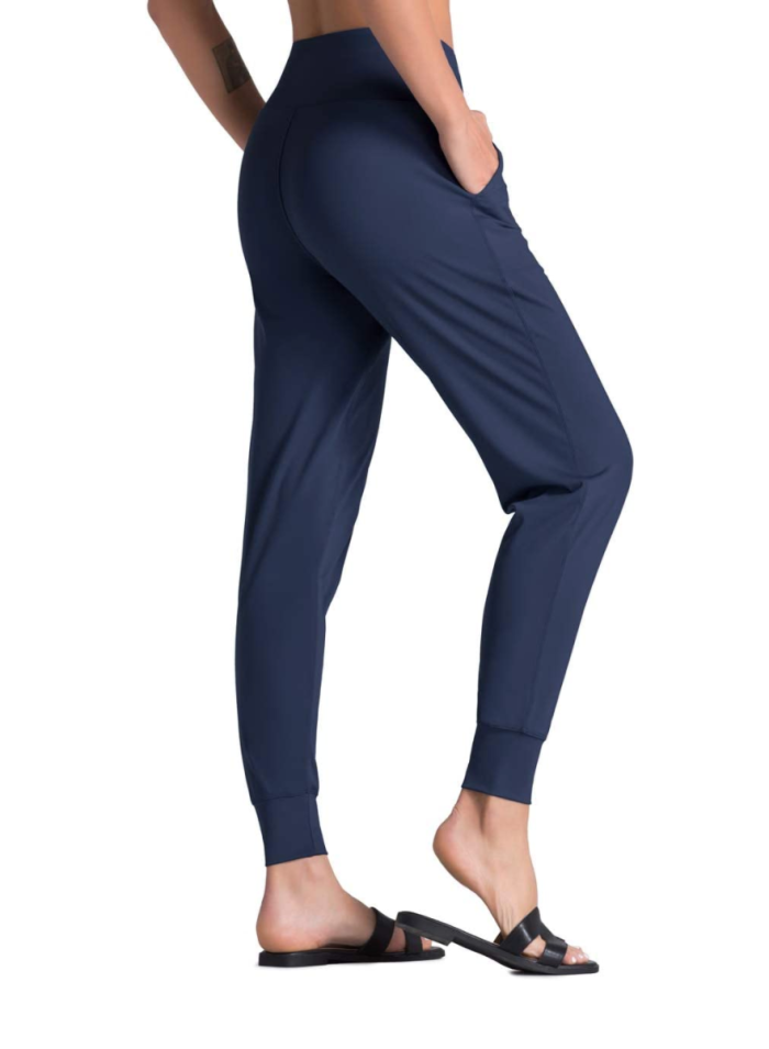 Pantalones deportivos de yoga de cintura alta Dragon Fit para mujer