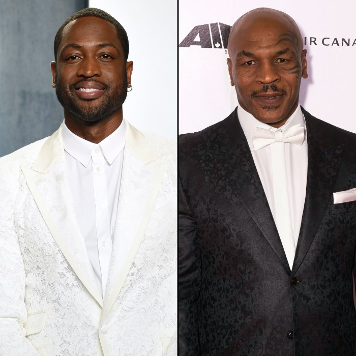 Dwyane Wade Says It was 'Great to Hear' Mike Tyson Defend His Family Against Transphobic Comments