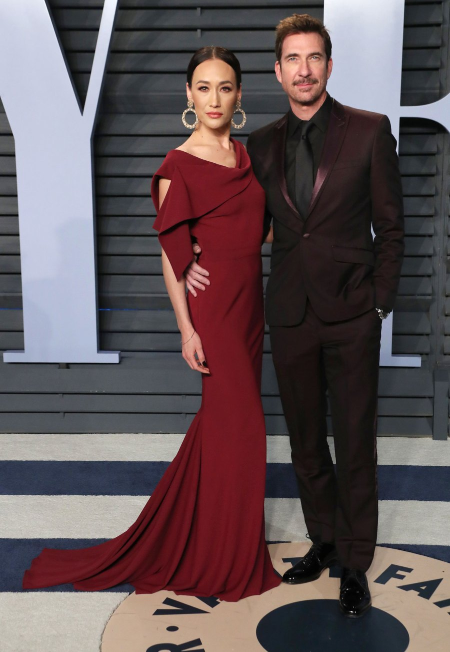 Dylan McDermott and Maggie Q Hollywood Couples Who Called Off Their Engagement