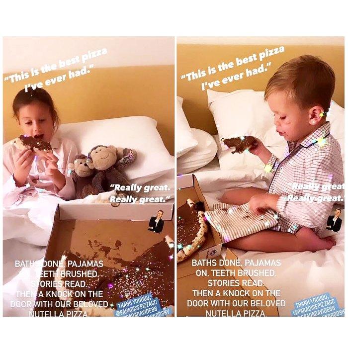 Elizabeth Chambers aplaude las críticas a los niños que comen dulces antes de acostarse