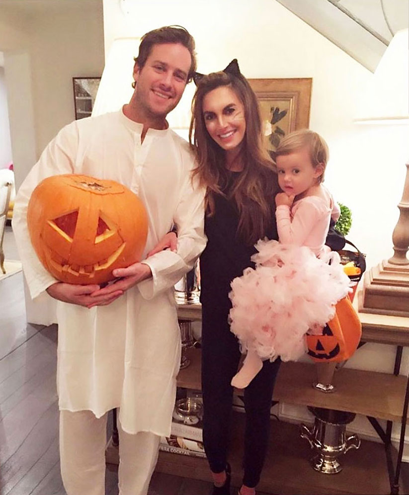 Elizabeth Chambers Shares Throwback Halloween Photos With Armie Hammer After Split