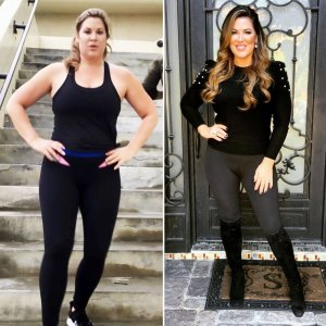 Emily Simpson Shows Off Incredible Weight Loss Before After Pics