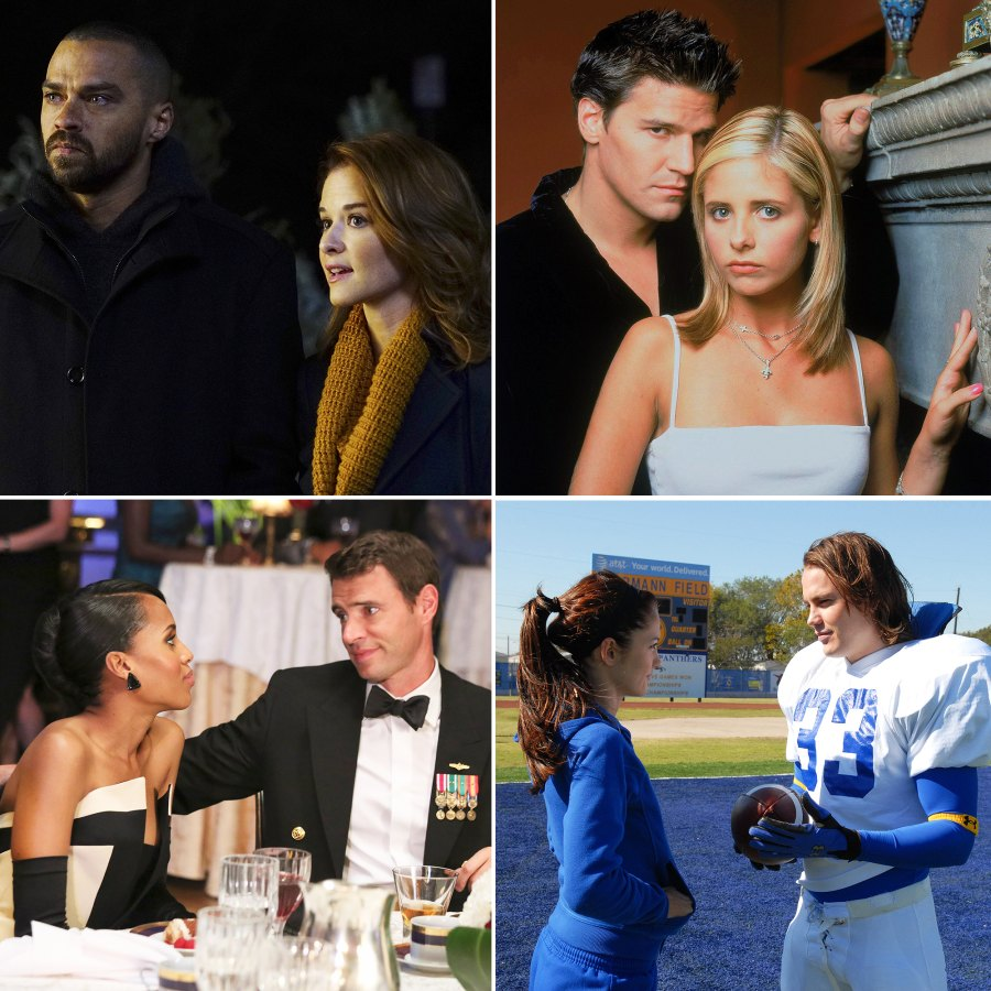 Fan Favorite TV Couples Didn't End Up Together