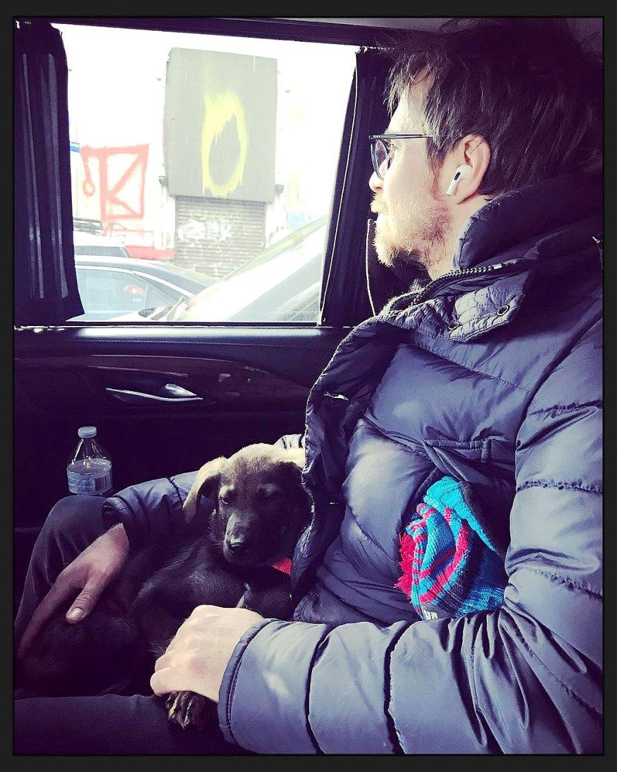 February 2020 New Family Member Leslie Bibb Instagram Sam Rockwell and Leslie Bibb Relationship Timeline