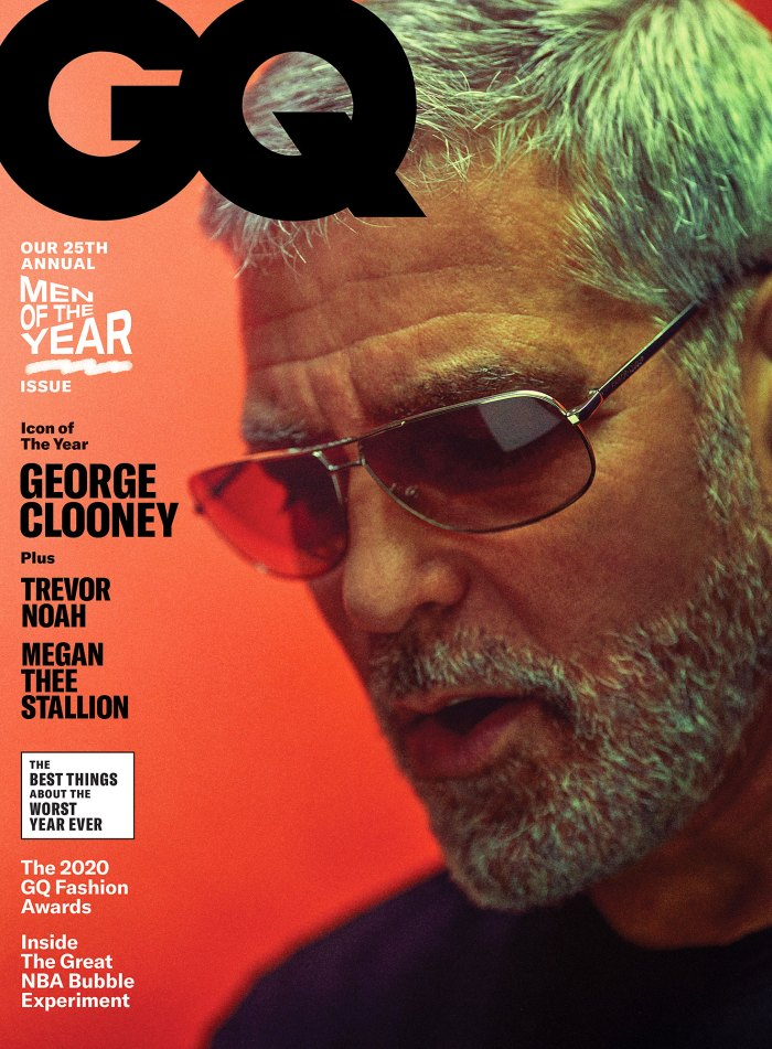 GQ Man Of The Year Cover George Clooney Credits Amal Clooney With Changing His View of Marriage and Kids