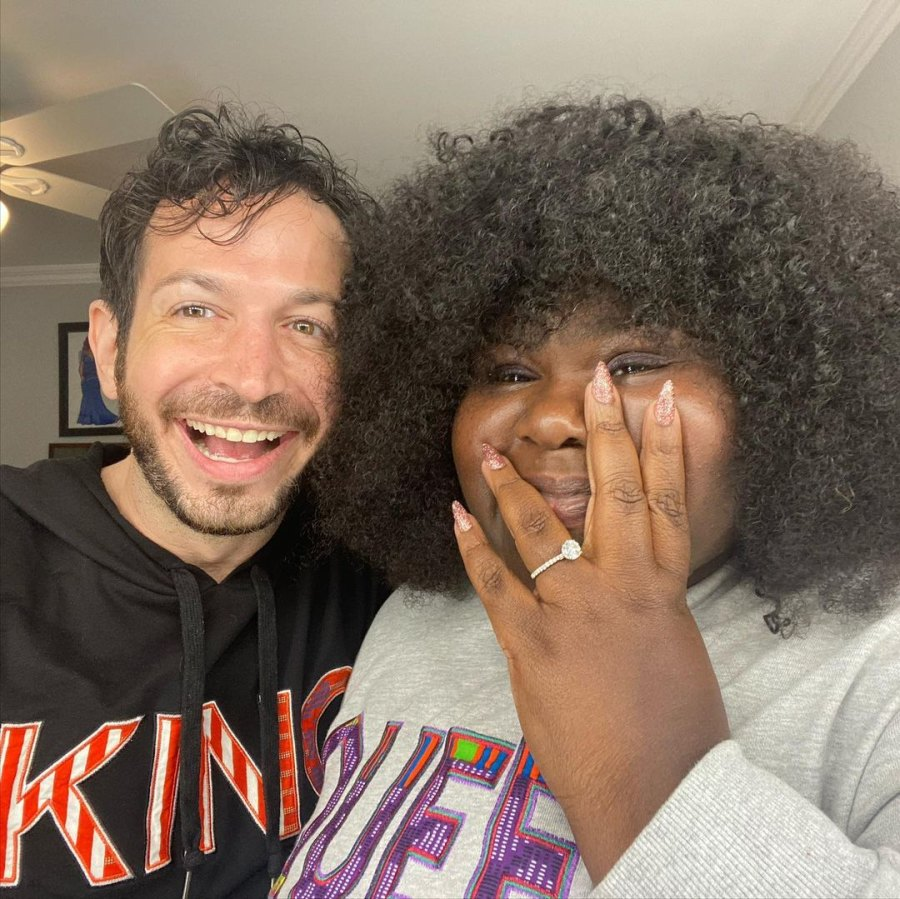 Gabourey Sidibe Is Engaged to Brandon Frankel After More Than 1 Year of Dating