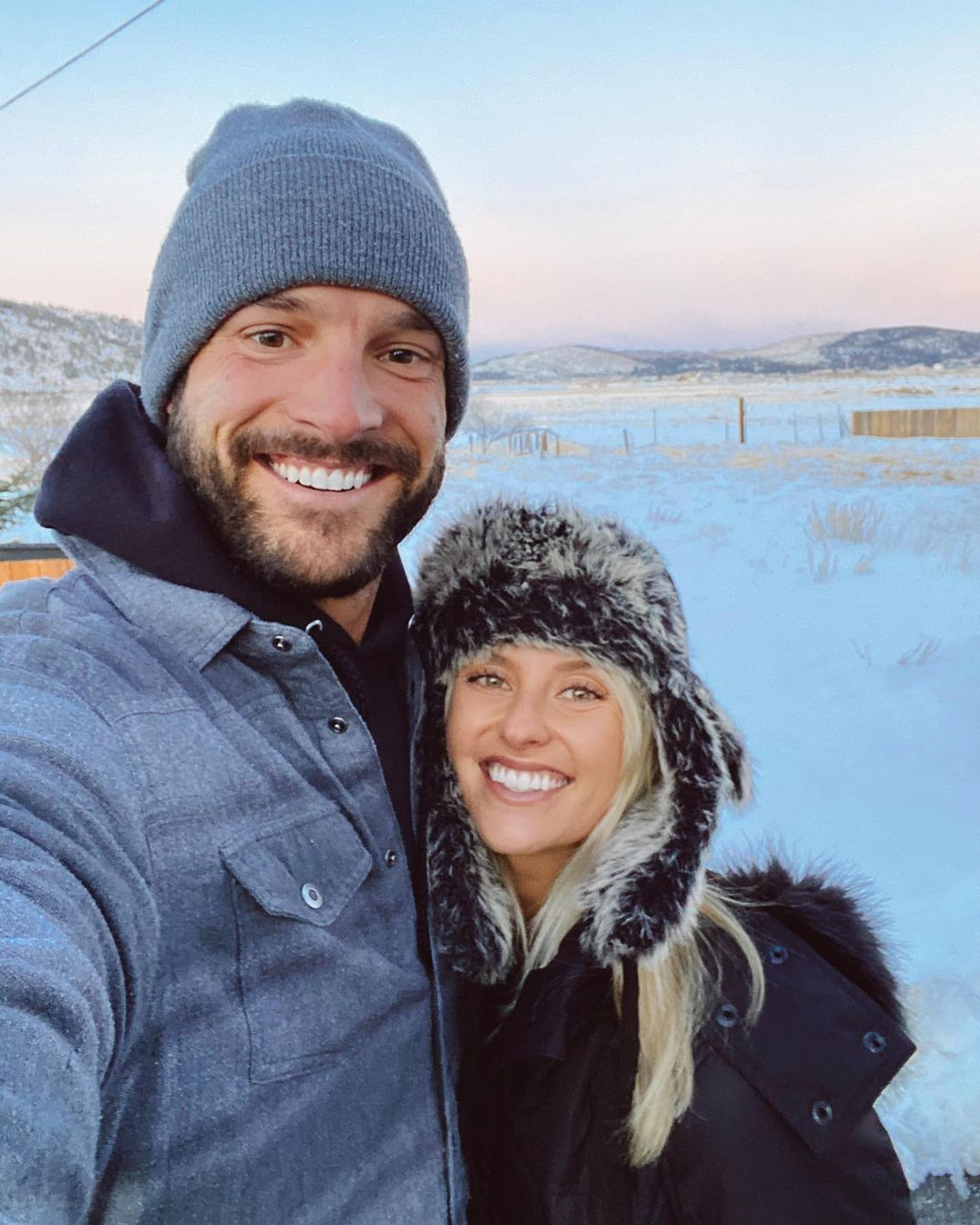 Garrett Yrigoyen Spends Thanksgiving With New Girlfriend Alex Farrar in Idaho