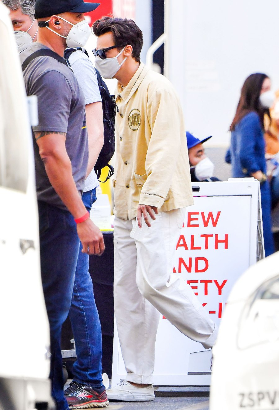 Harry Styles Movie Don't Worry Darling Halted Over Positive COVID-19 Test