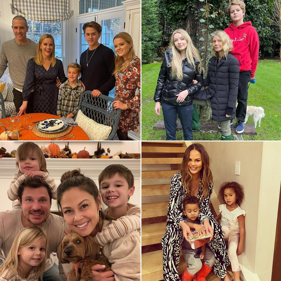 How Stars Celebrated Thanksgiving 2020